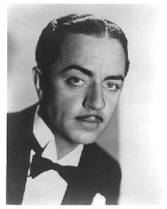 Classically handsome William Powell