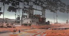 ArtStation - solar panel, Michael Wang