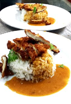 Chicken Katsu Curry Recipe. Wagamama style