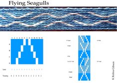 Flying Seagulls Pattern and instructions
