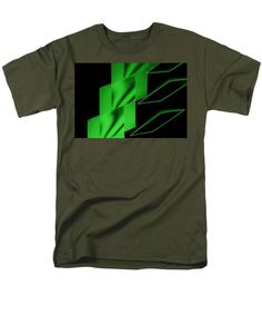 Monochromes 00ff00 Green Plgregori Gregori Pierluigigregori Hyperphoto Light Painting Lecce Photography Foveon T-Shirt featuring the photograph The Monochromes - 00ff00 - Green 1e by Pierluigi Gregori