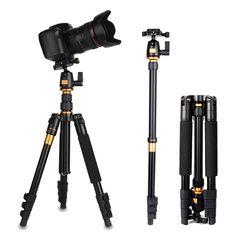 64.28$  Watch now - http://ali3tc.worldwells.pw/go.php?t=32705598328 - Portable Aluminium Monopod Stand Professional Camera Tripod  Universal Camera Tripod For Canon Nikon D7100 D90 D3100 Sony Pentax 64.28$
