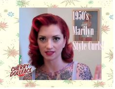 Here I show you guys how to do a cute vintage side part down curly style. This is similar to the style that Lauren Bacall wore in How to Marry a Millionaire. Hope you like it! Subscribe for NEW videos every Tuesday and Thursday!  ...  R. Tutorial, Doll, Hair, Tuto,