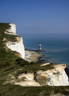 Beauty Head Lighthouse and White Cliffs