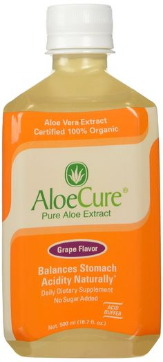 AloeCure Pure Aloe Vera Juice for Bouts of Acid Reflux, Heartburn, and IBS Grape, 6 Bottles All natural and drug free AloeCure® helps stop painful heartburn before it starts and helps to heal a damaged digestive system caused  Read more http://cosmeticcastle.net/health-personal-care/aloecure-pure-aloe-vera-juice-for-bouts-of-acid-reflux-heartburn-and-ibs-grape-6-bottles  Visit http://cosmeticcastle.net to read cosmetic reviews