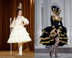 Lizchen's historically inspired gowns mixed with Japanese lolita fashion