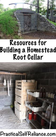 Resources for Building a Homestead Root Cellar - Practical Self Reliance
