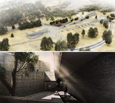 BOSQUES UNDERGROUND FUNERAL PARLOR - designboom | architecture