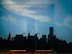 Camera Obscura: Late Afternoon View of the East Side of Midtown Manhattan, 2014  ©Abelardo Morell/Courtesy of Edwynn Houk Gallery, New York