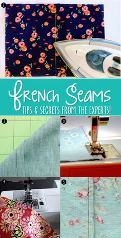 How to sew french seams. Genius tips from the experts!