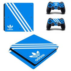 Video Games & Consoles Careful Ps4 Slim Console 2 Controllers Vinyl Skin Cannabis Weed 420 Decals Cover Sticker