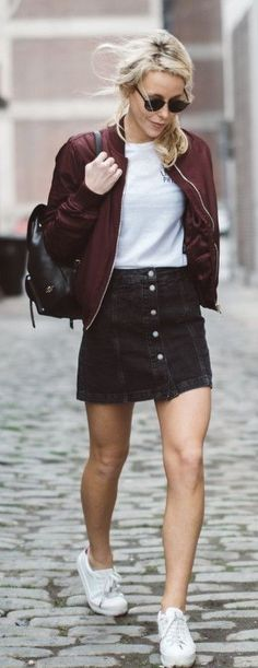Brandy ♥ Melville | Bruce Skirt - Clothing | fashion | Pinterest ...