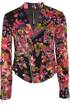 W118 by Walter Baker Emmet floral-print stretch-cotton twill jacket - 53% Off Now at THE OUTNET