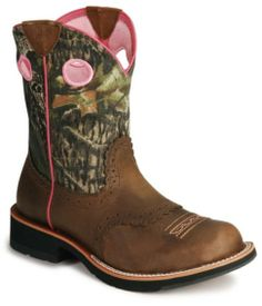 Ariat Camo Fatbaby Cowgirl Boots - Sheplers