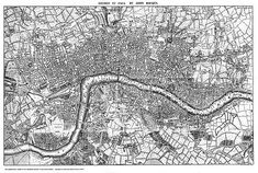 Maps of Old London. An atlas of Old London maps (detailed and quite large)… Street Map Of London, Old Maps Of London, London Map, Old London, London Places, Bastille, Victorian London, Vintage London, Framed Maps