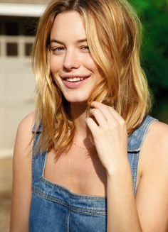Camille Rowe Keeps it Sunny and Fresh in Tanks Summer Issue