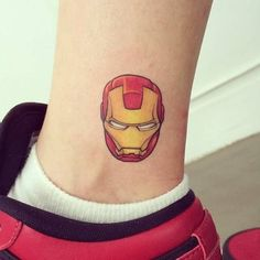 37 Small Tattoo Ideas For Big Avengers Nerds How deep is your love? 37 Small Tattoo Ideas For Big Avengers Nerds Simbolos Tattoo, Tattoos 3d, Mask Tattoo, Unique Tattoos, Small Tattoos, Ankle Tattoo, Nerd Tattoos, Big Tattoo, Tatoos