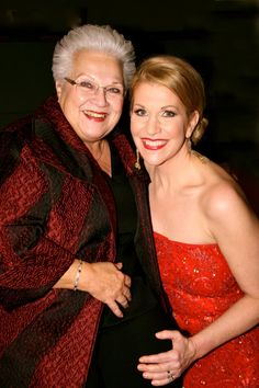 Two incredible singers. Marilyn Horne and Joyce di Donato
