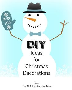 Over 100 DIY Christmas Decorating Ideas - Cottage at the Crossroads