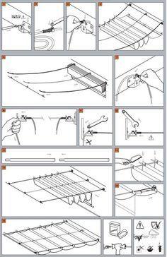 Wave Shades (Retractable Shades) Ready Made Sizes | Shade Sails LLC