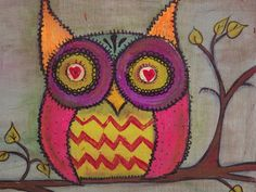 'Owl Be There For You' by Denise White