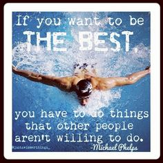 Michael phelps made this quote Swimming Memes, Keep Swimming, Michael Phelps Quotes, Swimmer Quotes, Swimming Pictures, Swimming Motivation, Swimmer Problems, Swim Mom, Sports