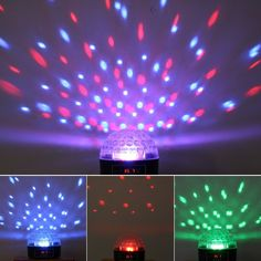 Organize a nightclub style dance party with this portable gadget. It comes with a control panel to create strobe effects and beams of shooting red, blue and green lights. Great for parties and home events, also makes a great Christmas gift.