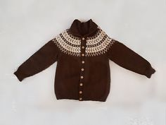 Wool Lopi Scandinavian Cardigan Sweater Winter Clothing Unisex Brown Handknit Jumper by StarfishCollectibles on Etsy Winter Sweaters, Sweaters For Women, Vintage Clothing, Vintage Outfits, Sweater Cardigan, Jumper, Large Women, Scandinavian Style, Shoulder Sleeve