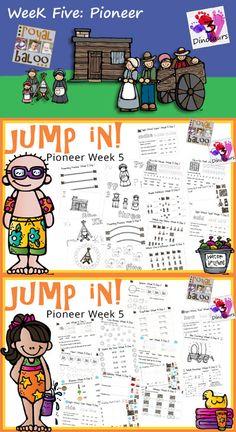 Free Pioneer Learning Printable Packs