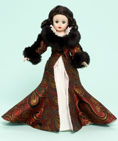 Madame Alexander Gone With the Wind Scarlett O'Hara in Dressing Gown Doll 10-inch Collectible Doll - Gone With the Wind