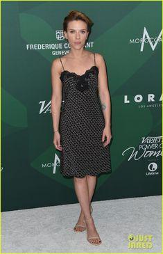 Scarlett Johansson & Helen Mirren Step Out at Variety Power of Women Luncheon