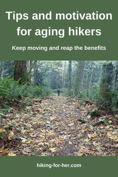 Hikers and aging go together, and it can be a good combination with these tips from Hiking For Her. #olderhikers #aginghikers #hikingforher Backpacking Tips, Hiking Tips, Hiking Gear, Aerobics Classes, Gray Wolf, Bucket List Destinations, Bone Health, Day Hike, Best Memories