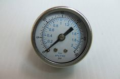 "You are buying one new 30 PSI Gauge. Photos show the item for sale.      Type: 1.5""     Range: 30 PSI / 200 kPa     Conn: 1/8"" NPT"