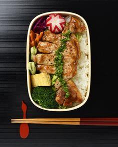 トンテキ弁当 / Pork Steak Bento #edit_jp