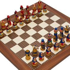 The Ruler of Kiev Hand Painted Ukrainian Chessmen  Astor Place Chess Board ** Be sure to check out this awesome product.(It is Amazon affiliate link) #red