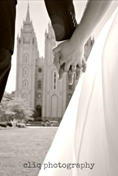 SLC temple weddings / love lasts forever  *love this shot