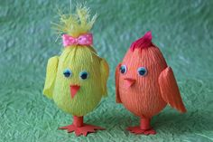 Как сделать Пасхального цыпленка, поделки к Пасхе своими руками