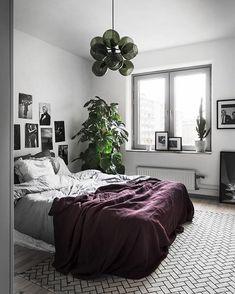 Bedroom color/Photo @kronfoto, styling @scandinavianhomes