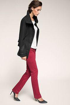 Esprit - Weiche Woll-Mix-Jacke mit Gürtel im Online Shop kaufen