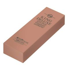 "JAPANESE King Delux Knife Sharpening Stone Grit 1200 . $34.99. Made in Japan. For Professional Use The finer the grit, the denser the material, which leads to a finer finish of the surface of the tool. Finer grits cut slower because they remove less material. Grits are often given as a number, which indicates the density of the particles with a higher number denoting higher density and therefore smaller particles. Dimensions of the stone (inches): 8 1/2"" x 2 1/4"" x 3 ..."