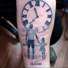 Image result for dad and daughter tattoo