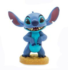 Disney Lilo and Stitch Scrump Doll Luau Beach Party Figure Figurine Cake Topper