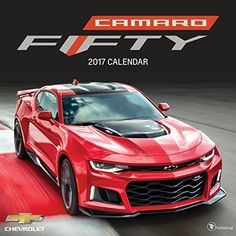 2017 Camaro 50th Anniversary Wall Calendar *** You can find out more details at the link of the image.