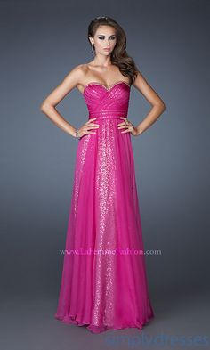 2013 Special Empire Long Sweet Chiffon Strapless Classic And Sequin Prom/evening/bridesmaid Dresses Lf-18869