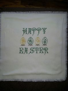 Easter Basket Covers +++