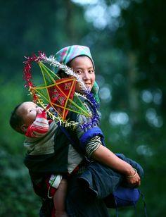 Hmong children from Vietnam