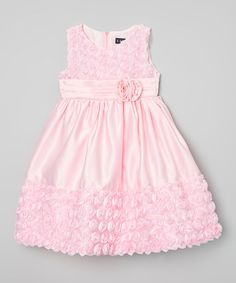 Loving this Pink Ruffle Dress - Infant, Toddler & Girls on #zulily! #zulilyfinds