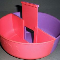 The special bowl that was absolutely necessary to enjoy your Nerds cereal.