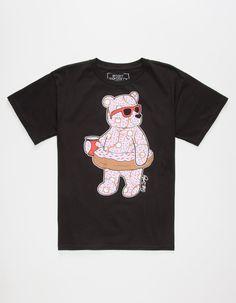 RIOT SOCIETY Donut Bear Boys T-Shirt