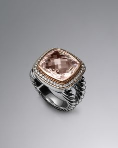 David Yurman | Rose Gold Rings: David Yurman Rose Gold Rings